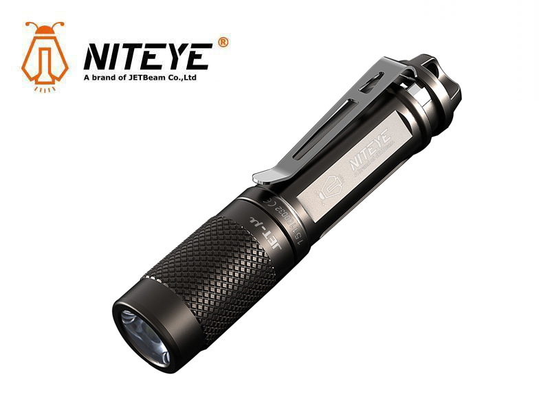 Niteye JET-u LED minificklampa