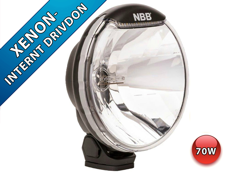 NBB Alpha 225 Xenonkonverterad 12v Inbyggd ballast LED Positionsljus (4300K (Var