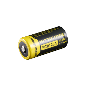 Laddbart CR123A, 650 mAh 3,7 volt