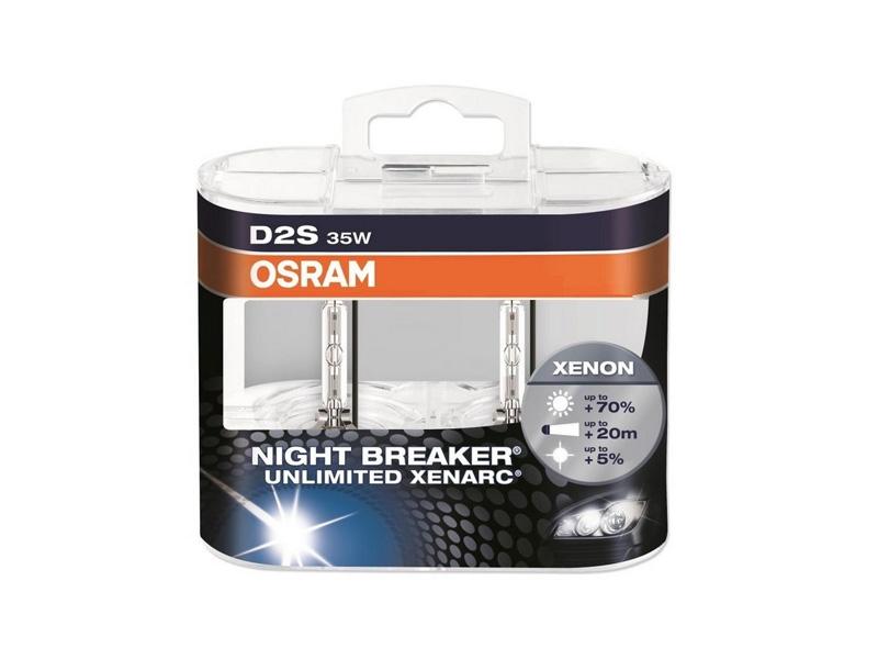 d2s osram night breaker unlimited 2 pack. Black Bedroom Furniture Sets. Home Design Ideas