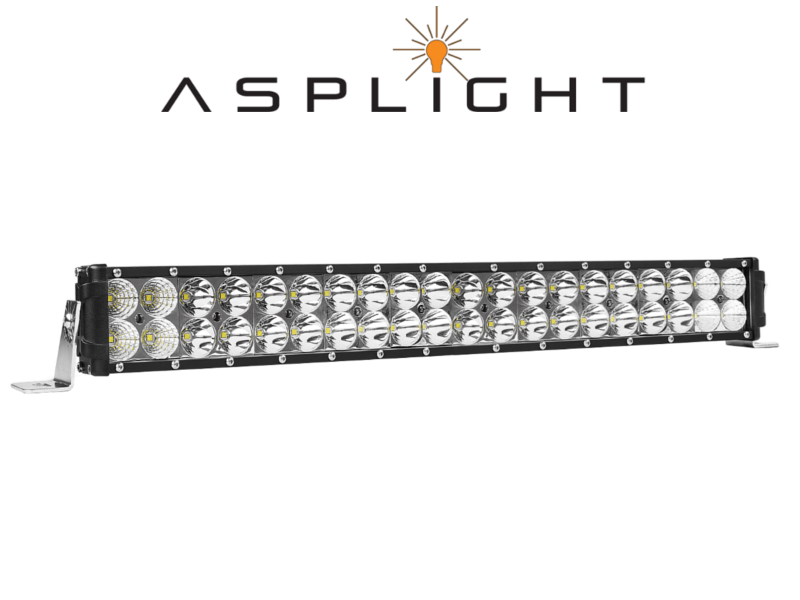 Asplight 20tum LED-extraljusramp
