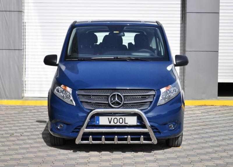 MINDRE frontbåge med trågskydd - Renault Master 1999-2010