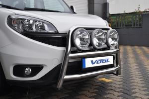 STOR TRIO frontbåge - Fiat Doblo 2015-