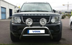 MINDRE frontbåge - Land Rover Discovery (4) 2011-2015