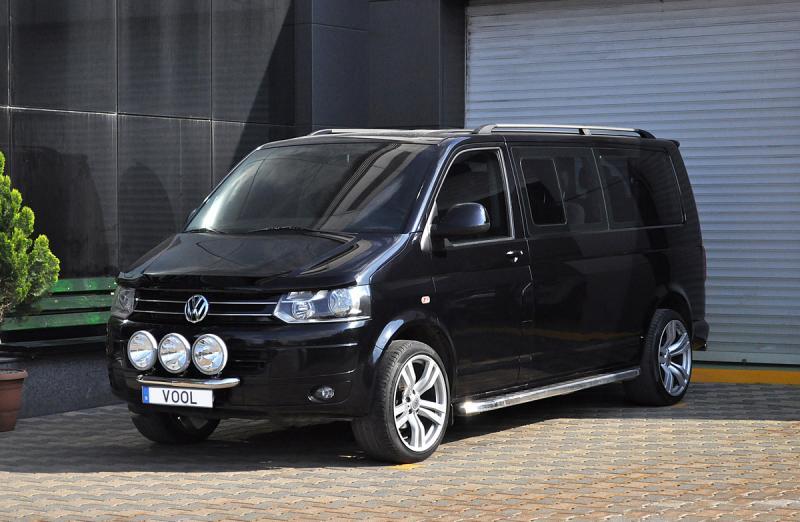 Modellanpassad Voolbar Ljusbåge till VW T5 2010-2015