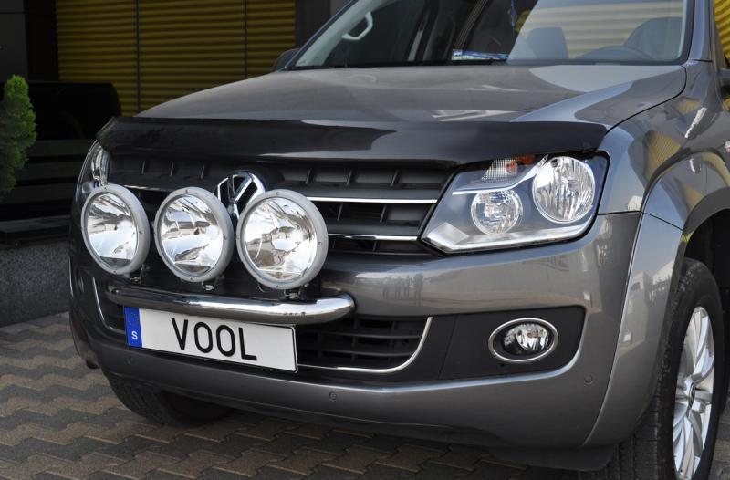 Modellanpassad Voolbar Ljusbåge till VW Amarok 2011-