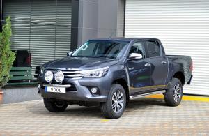 Modellanpassad Voolbar Ljusbåge till Toyota Hilux 2016-