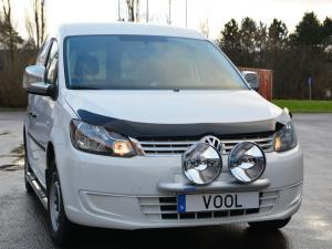 Voolbar Alu Ljusbåge (för 2 st extraljus eller LED-ljusramp)