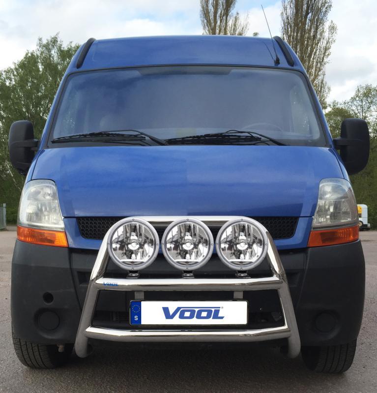 STOR TRIO frontbåge - Renault Master 1999-2010