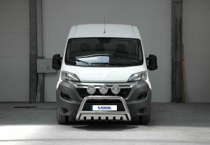 EU Frontbåge med hasplåt - Peugeot Boxer 2015-
