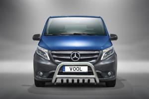 EU Frontbåge med hasplåt - Mercedes Vito 2015-
