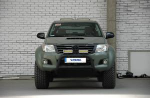 EU Frontbåge [Svart] - Toyota Hilux 2010-2015
