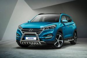 EU Frontbåge med hasplåt - Hyundai Tucson 2016-