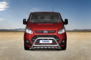 EU Frontbåge med hasplåt - Ford Transit Custom 2013-2017