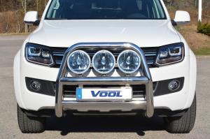 STOR 76MM frontbåge - VW Amarok 2011-