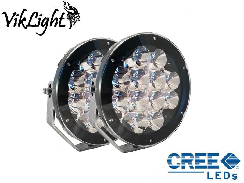 Viklight Oden 120W LED Extraljus Svart 2-Pack