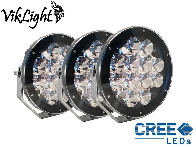 Viklight Oden 120W LED Extraljus Svart 3-Pack