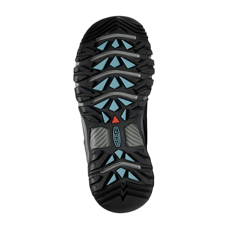 Sulan på den breda gråblå promenadskon Keen W Targhee III WP