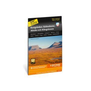 Kebnekaise, Abisko och Riksgränsen 1:50 000