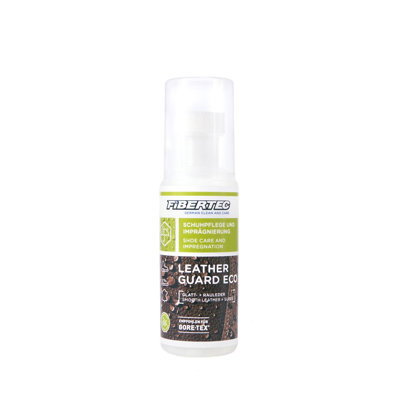 Fibertec Leatherguard Eco 100 ml. En vattenbaserad impregnering för grovt, slätt och slipat läder