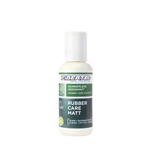 Den vårdande behandligen Fibertec Rubber Care Matt 100 ml. För gummistövlar och gummidetaljer på kängor.