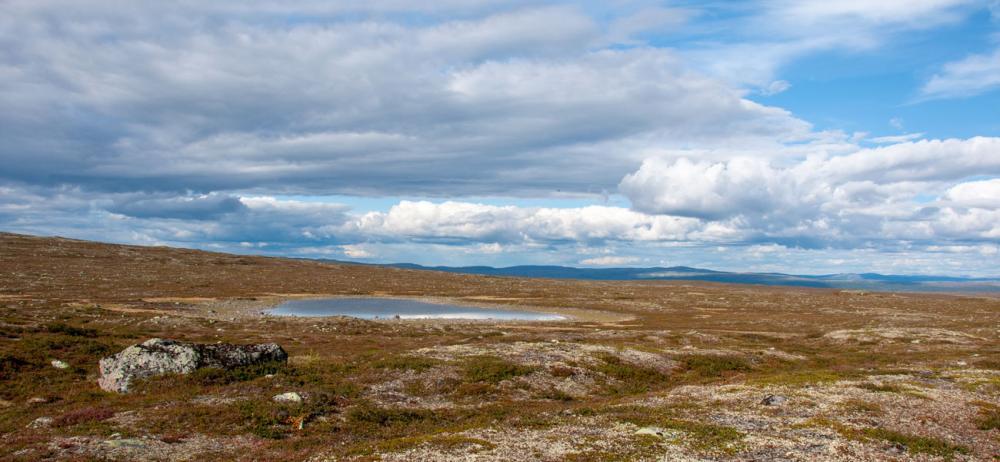 Utsikt från Långfjället