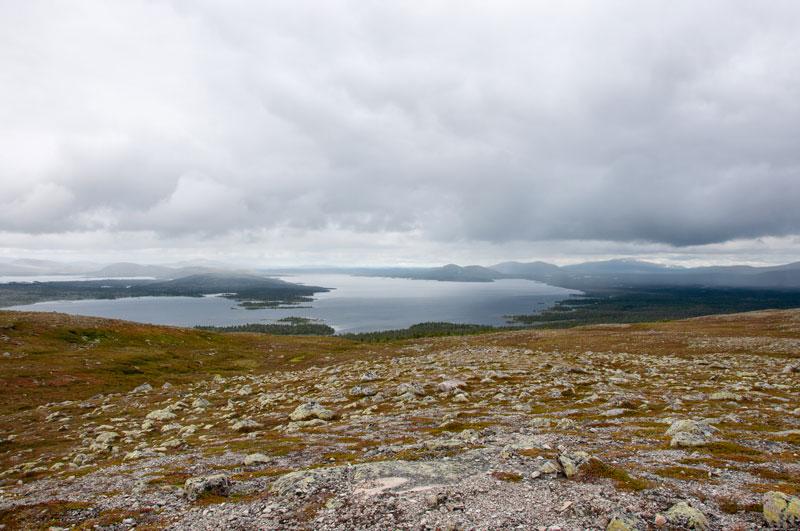 Sjön Rogen sedd från Tandsjövålen