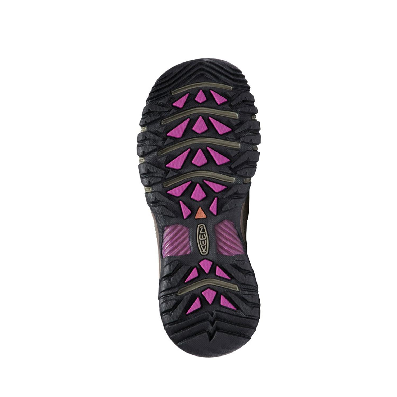Sula på den breda promenadskon Keen Women's Targhee III Waterproof för tjejer.