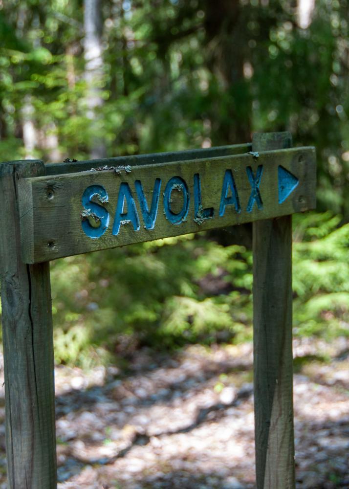 Savolax är en gammal fins bosättning på Låssaleden i Upplands-bro