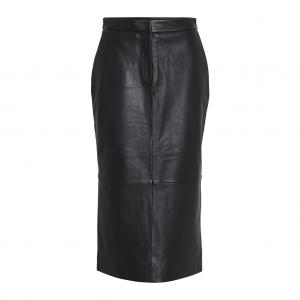 2ND VARITY LEATHER SKIRT BLACK 2ND DAY