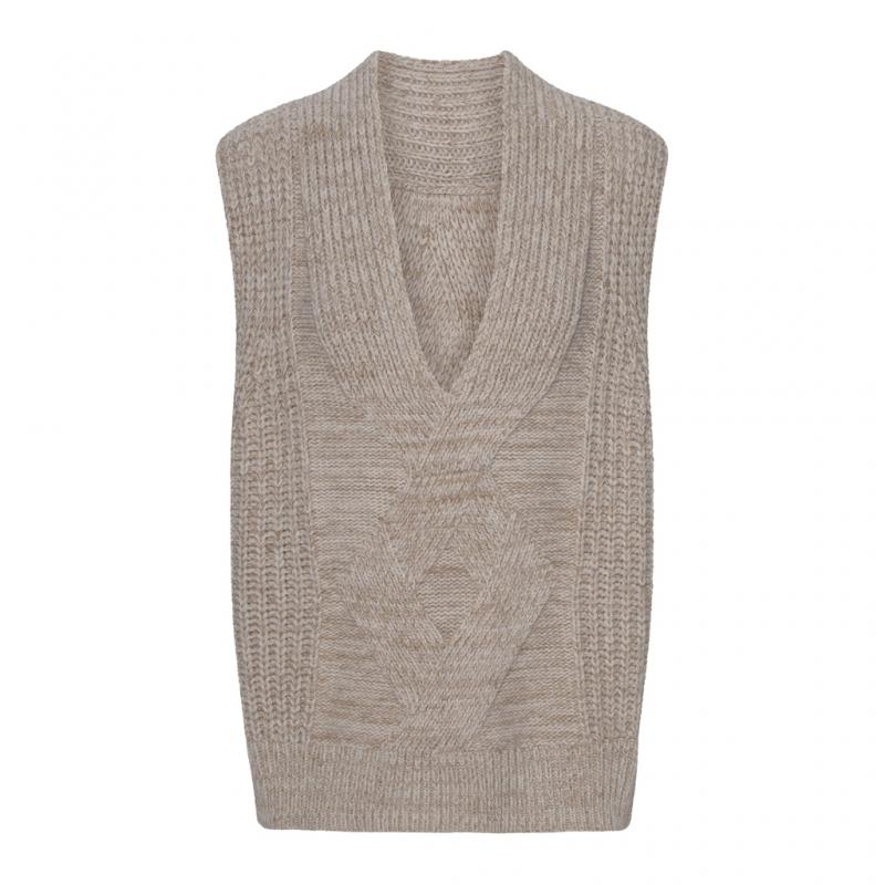 2ND EDITION SELES VEST PURE CASHMERE  2ND DAY