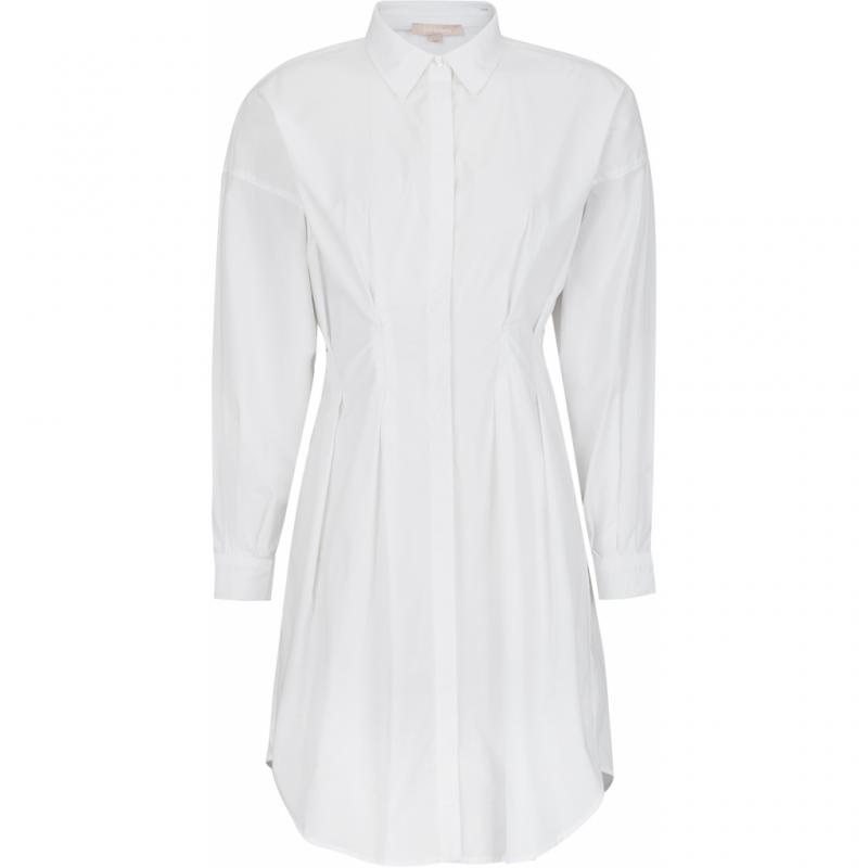 SRELLJA LS DRESS SNOW WHITE SOFT REBELS