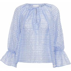 2ND HAVANA CHECK BLOUSE QUIET HARBOR 2ND DAY