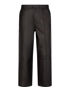 COMO LEATHER PANT BLACK MOSMOSH