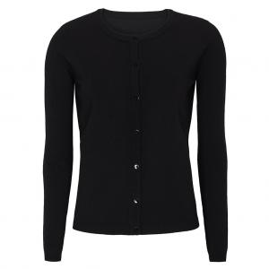 ZARA CARDIGAN O-NECK BLACK SOFT REBELS
