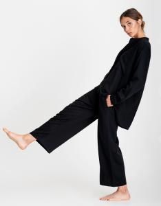 AIRY PANTS BLACK A PART OF THE ART