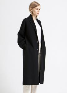 MIA COAT BLACK HOUSE OF DAGMAR