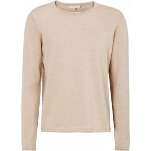 ZARA O-NECK KNIT ROLL EDGE WARM SAND SOFT REBELS
