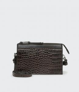 EDITH BAG DARK CHOCOLATE SADDLER