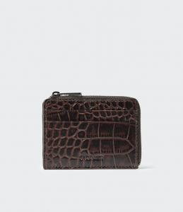 KIM WALLET DARK CHOCOLATE SADDLER