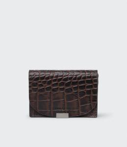 RENEE WALLET DARK CHOCOLATE SADDLER