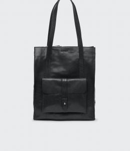 JULIETTE BAG BLACK BUFF SADDLER
