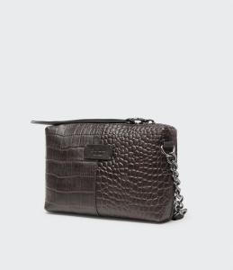 MILANO BAG DARK CHOCOLATE SADDLER