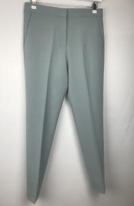 Boh Whisper Tailored Trousers Silver Blue French Connection