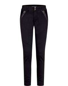 MILTON TUCK PANT BLACK MOSMOSH