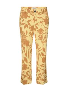Bella stencil pant jojoba yellow mosmosh