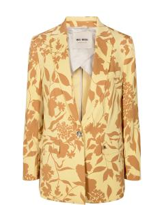Cobb stencil blazer jojoba yellow mosmosh