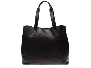 Paris totebag black Saddler