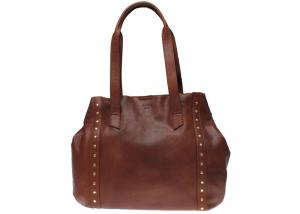 Totebag Ylva midbrown Saddler