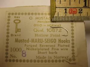 Mustad 10872 No.12(8) Maru-Seigo
